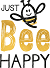 Just Bee Happy Logo